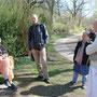 Im Park Am Weiher, wo Srila Prabhupada bei seinem Besuch 1969 spazieren ging.