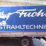 Anhängerbeschriftung - Fuchs