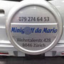 Fahrzeugbeschriftung - Minigolf da Mario