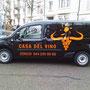 Fahrzeugbeschriftung - Casa Del Vino
