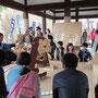 ダンボール巨大紙相撲大会(四條畷神社)