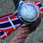 Band:Nato Supreme »Yank« | Uhr: Steinhart Ocean One Vintage Dual Time Premium