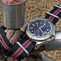 Band: Nato G10 »Red Heritage«| Uhr: Breitling Colt GMT