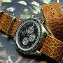 Band: Nato Leder »Grain Cone« | Uhr: Omega Speedmaster Soyuz