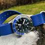 Band: Zulu HC 5 Ring »Royal« | Uhr: Steinhart Ocean 39 GMT Premium 500