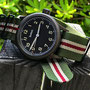 Band: Nato PVD »Sherman« | Uhr: Hanhart Watchlounge Edition