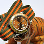 Band: US Mil PVD »Tenere« | Uhr: Rolex GMT Master II 16713