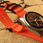 Band: ZULU PVD 3 Ring orange | Uhr: MKII Seafighter Bund 1