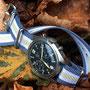 Band: Nato G10 »Spalatum Beige« | Uhr: CWC '78 RAF Chronograph
