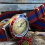 Band: Nato XT »Culpeper« | Uhr: Steinhart Ocean One Vintage Dual Time Premium