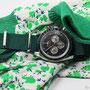 Band: Nato G10 »British Racing Green« | Uhr: Omega Speedmaster Soyuz