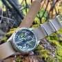 Band: Nato XT sand  | Uhr: Ball Ducks Unlimited Camouflage