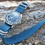Band: Zulu HC 5 Ring »Ocean« | Uhr: Noblex Squale Master 1000