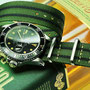 Band: Nato Matt »Tullamore« | Uhr: Rolex Submariner 16800