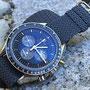 Band: Braided dunkelgrau | Uhr: Omega Speedmaster Soyuz