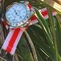 Band: Nato Split »Rojiblanco« | Uhr: Rolex Explorer II 16570