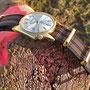 Band: Nato Gold »Real Bond Olive« | Uhr: Zodiac Olympos