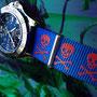 Band: Nato G10 »Skully Print« | Uhr: Breitling Colt