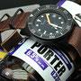 Band: Nato Leder Supreme PVD »Porter« | Uhr: Squale 1521 PVD
