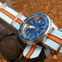 Band: Nato G10 »Gulfy« | Uhr: Squale 1521 Blu LE