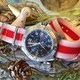Band: Nato XT »Rojiblanco« | Uhr: Breitling Colt GMT
