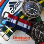 Band: Nato G10 »Brasil« und Nato PVD »Croatia«| Uhr: Corvus