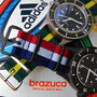 Band: Nato G10 »Brasil« und Nato PVD »Croatia«| Uhr: Corvus Bradleys
