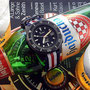 Band: Nato G10 »Spalatum« | Uhr: Squale 1521 PVD