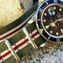 Band: Nato Matt »Sherman« | Uhr: Rolex Submariner 16800