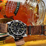 Band: Nato Leder »Whiskey in the Jar« | Uhr: Rolex Submariner 16800