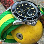 Band:Nato XT »Capri« | Uhr: Rolex Submariner 16800