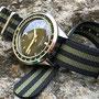 Band: Nato Matt »Olive Bond« | Uhr: Ollech & Wajs Caribbean 1000