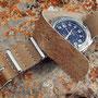 Band: Nato Leder »Pale« | Uhr: Breitling Colt GMT