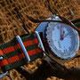 Band: Nato XT »Tenere« | Uhr: Doxa Searambler 1200T