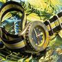 Band: Nato XT »Yello Heritage« | Uhr: Beuchat Ushuaia 1000