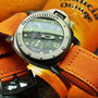 Band: Canvas Split PVD »Arancia« | Uhr: Panerai PAM 025 Luminor Submersible