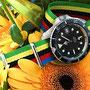 Band:  Nato G10 »Olimpico« | Uhr: Rof Monnin 844