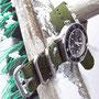 Band: Zulu HC, 3 Ring, dunkelgrün | Uhr: MKII Stingray 50A
