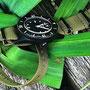 Band:Nato PVD oliv | Uhr: Corvus Bradley FSC