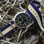 Band: Nato G10 »Beige Sailor« | Uhr: Aussie Naval Diver Reissue