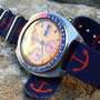 Band: Nato XT »Anchorage Print« | Uhr: Tradition Golden Nugget