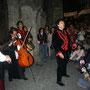 ATRIO DE LA SANTÍSIMA TRINIDAD, FESTIVAL DE LA LUNA LLENA 2007. Fotografía de Blanca Estela de la Rosa