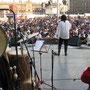 ZÓCALO CD. DE MÉXICO, 2010. Fotografía de Irma Rincón