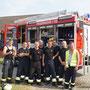 Kameraden der Polnischen Feuerwehr