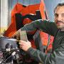 Garage Jurt - Michael Jurt bei der Arbeit