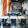 Ansicht im Innern des Restaurants Calanda