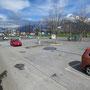 Parkhotel Wangs, Wangs - Blick auf Parkplatz