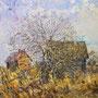 """Батаев В.А. """"Весна в деревне Покров"""" 2010г.  Х.,м.  81х93"""