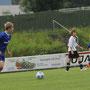 Niklas Theisen bot im defensiven Mittelfeld eine starke Leistung