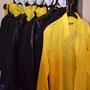unsere Garderobe umfaßt schon mehrere Koffer